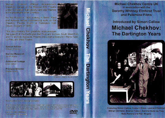 Michael Chekhov: The Dartington Years, National Michael Chekhov Association