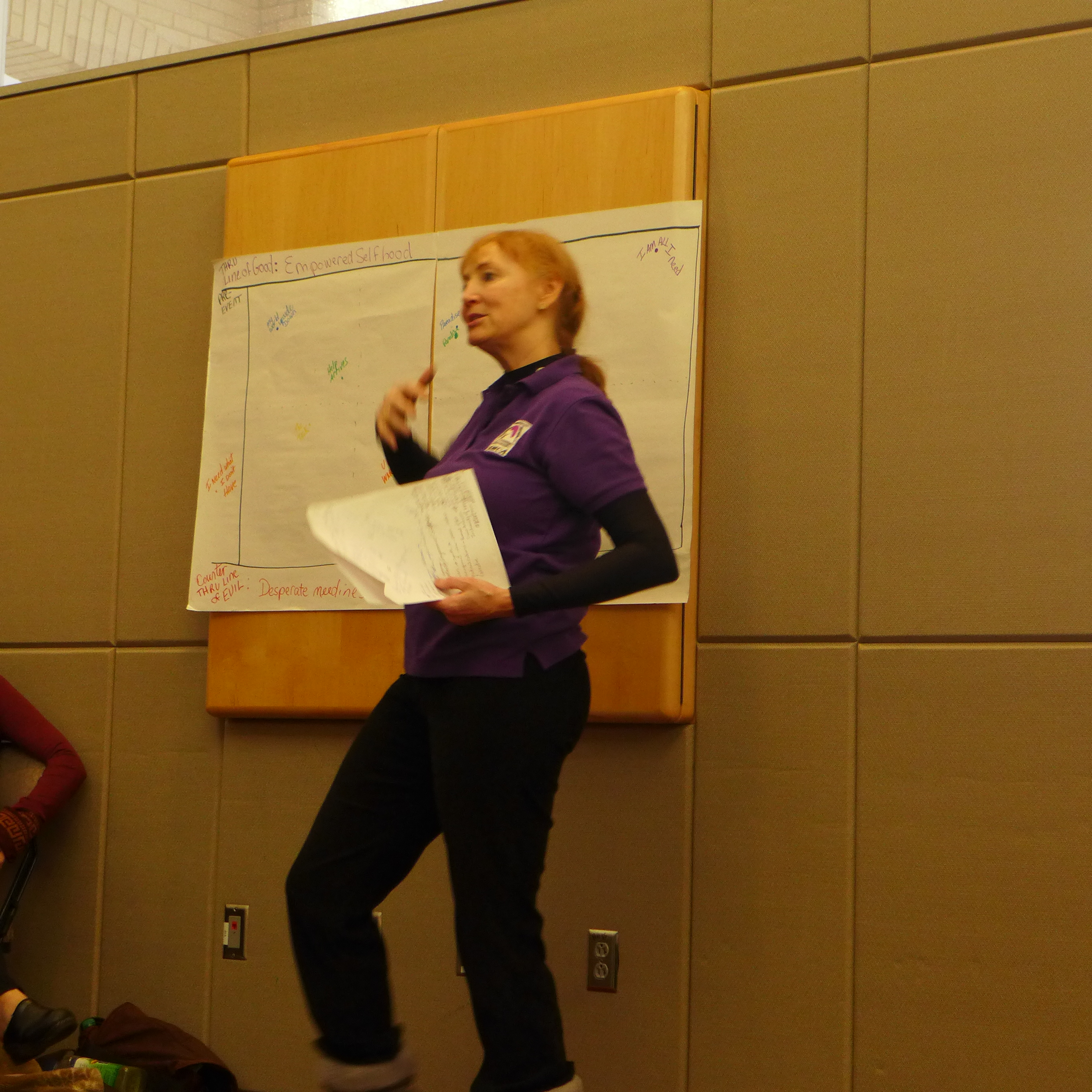 Michael Chekhov Master Teacher Lisa Dalton explains SynthAnalysis at SETC