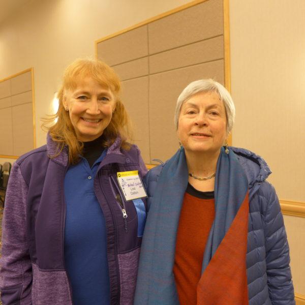 Lisa Dalton and Kristen Linklater at SETC